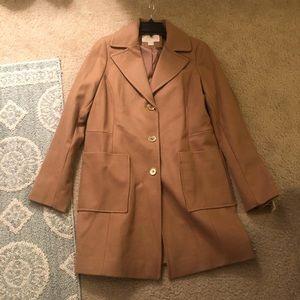 Michael Kors Coat In Camel